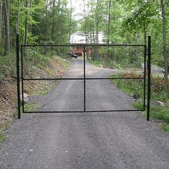 8'h Driveway Fence Gate