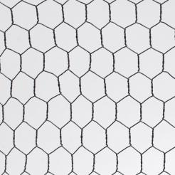 7.5' x 100' Rodent Barrier Hex Metal Fence