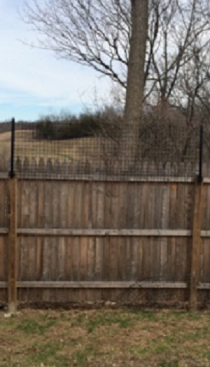 Stockade Fence Conversion Extension Kit