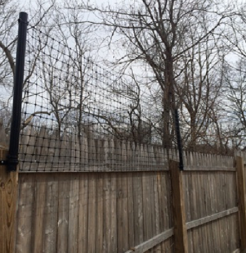 Stockade Fence extension kit
