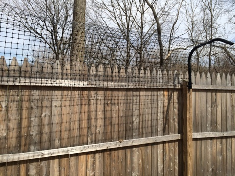 Fence Arm Extension With Hardware
