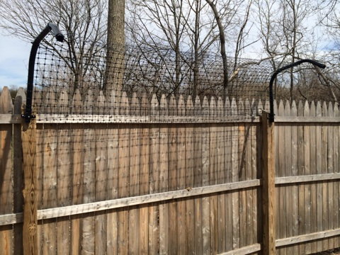 Deer Fence Access Gate Access Gate Frame Assembly The