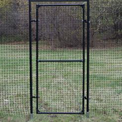 8' Deer Fence Gate With Frame