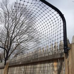 Curved Fence Pole Kit